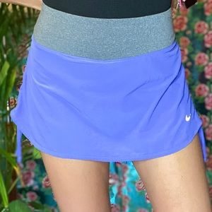 Nike Dri Fit Running tennis Skort Skirt colorblock